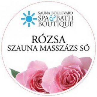 Masszázs só, rózsa