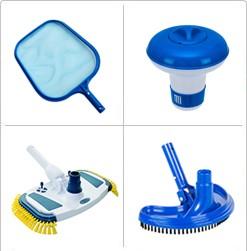 Medence kiegészítők, karbantartó eszközök