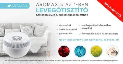 Aromax 5 az 1-ben levegőtisztító készülék 45-70 m2 | Wood And Life Kft.