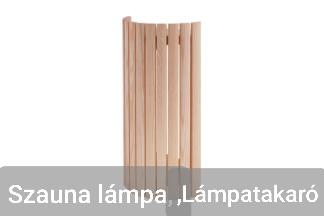 Szauna lámpa, Lámpatakaró