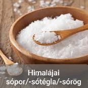 Himalájai sópor/-sótégla/-sórög