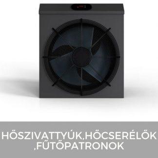 Fűtés (hőszivattyúk, hőcserélők, fűtőpatronok)